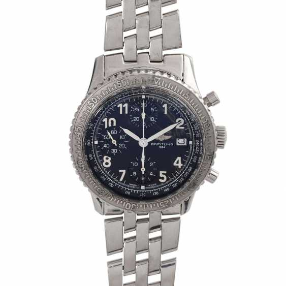 BREITLING Aviastar Chronograph men's watch, Ref. A13024. Stainless steel. - photo 1