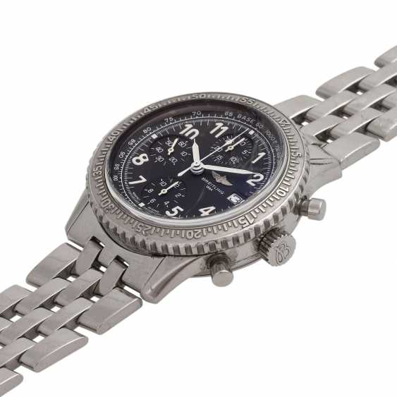 BREITLING Aviastar Chronograph men's watch, Ref. A13024. Stainless steel. - photo 4