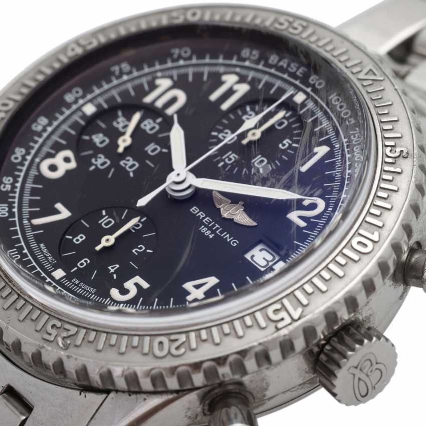 BREITLING Aviastar Chronograph men's watch, Ref. A13024. Stainless steel. - photo 5