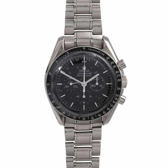 OMEGA Speedmaster 30th Anniversary Moon Landing Chronograph Herrenuhr, Ref. 3560.50.00. - photo 1