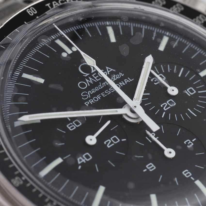 OMEGA Speedmaster 30th Anniversary Moon Landing Chronograph Herrenuhr, Ref. 3560.50.00. - photo 5