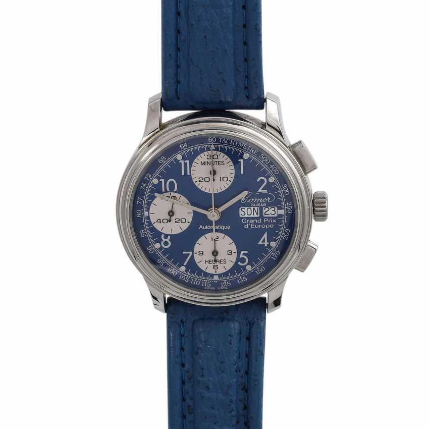 COMOR Grand Prix d'europe Chronograph men's watch, 1990s. - photo 1