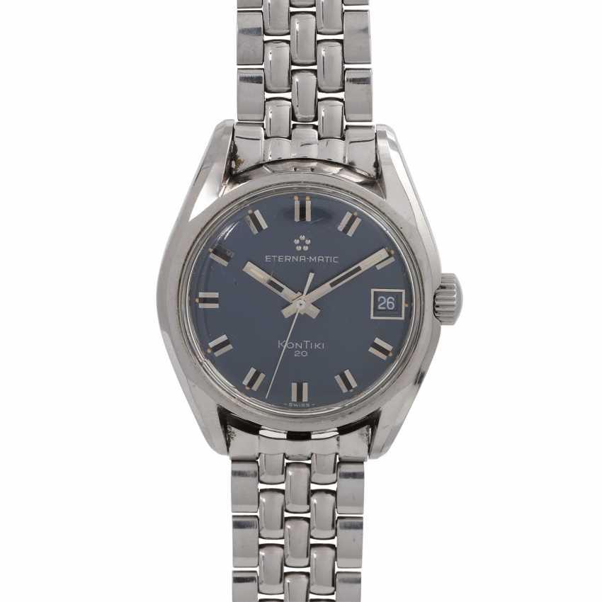 ETERNA Matic Kontiki 20 watch. Stainless steel. - photo 1