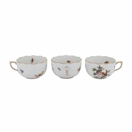 HEREND coffee service for 6 persons, 'Rothschild', 20. Century. - photo 4