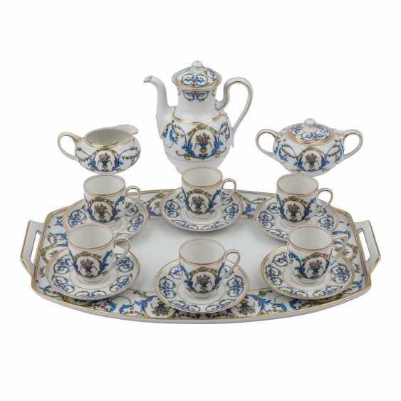 ROSENTHAL mocha service for 6 people, 1920s. - photo 1
