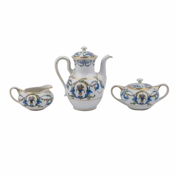 ROSENTHAL mocha service for 6 people, 1920s. - photo 3