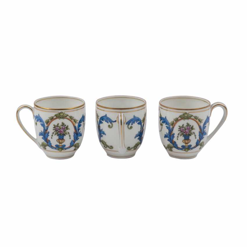 ROSENTHAL mocha service for 6 people, 1920s. - photo 4