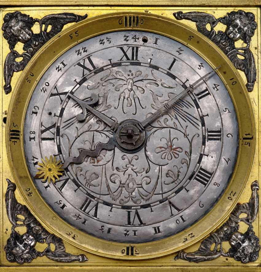 Magnificent Horizontal Table Clock, Ref. I. V. K., 1. Half of 18. Century - photo 3
