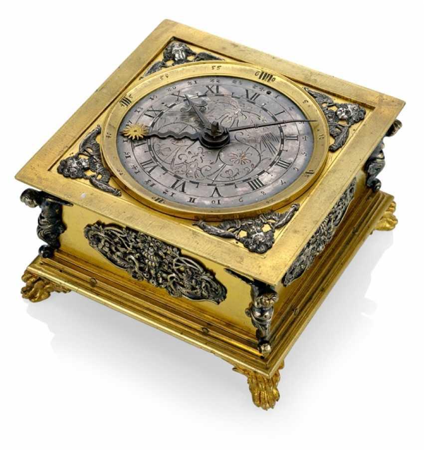Magnificent Horizontal Table Clock, Ref. I. V. K., 1. Half of 18. Century - photo 2