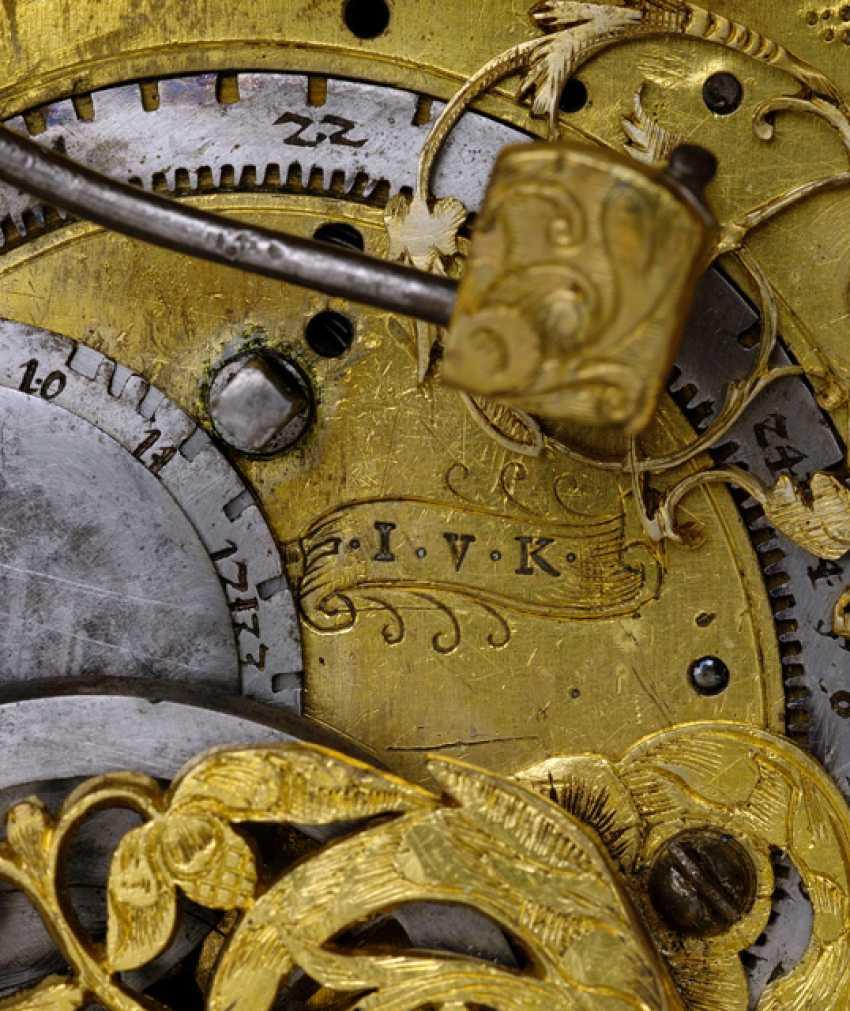 Magnificent Horizontal Table Clock, Ref. I. V. K., 1. Half of 18. Century - photo 4