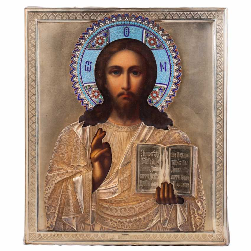 Icon of Lord the Almighty in salary - photo 1