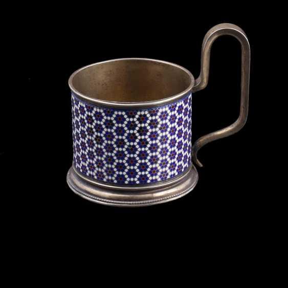 Silver holder. Gustav Klingert - photo 1