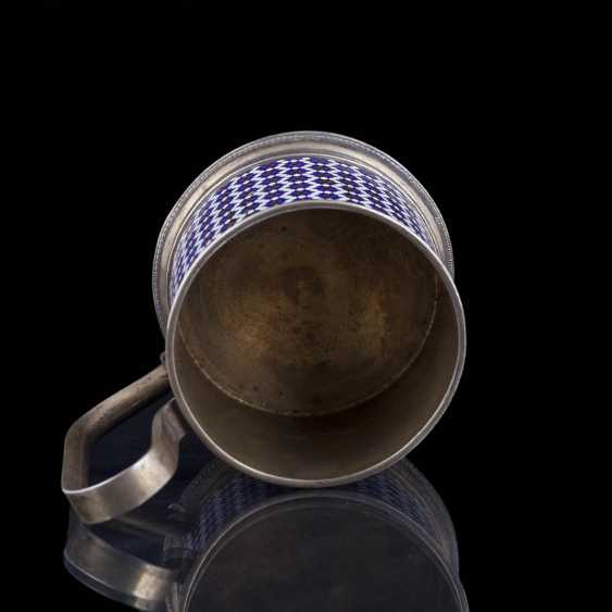 Silver holder. Gustav Klingert - photo 2