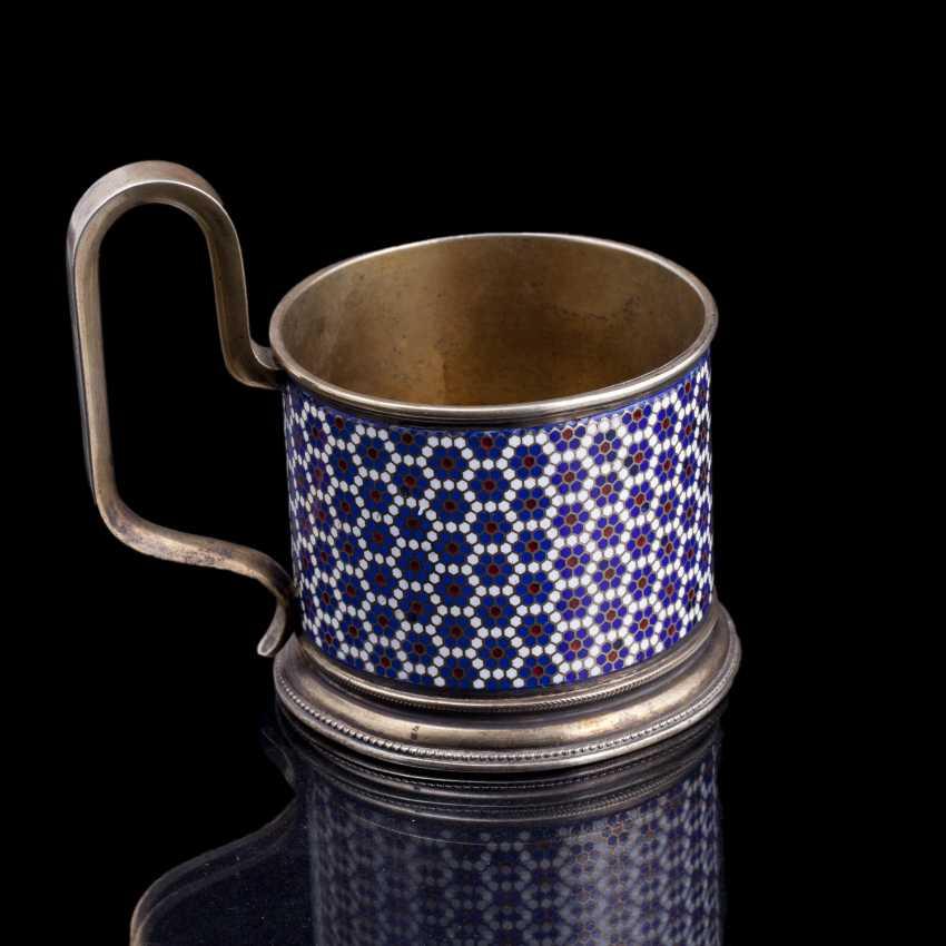 Silver holder. Gustav Klingert - photo 3