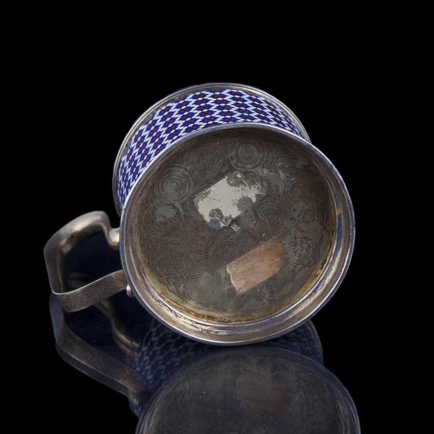Silver holder. Gustav Klingert - photo 5
