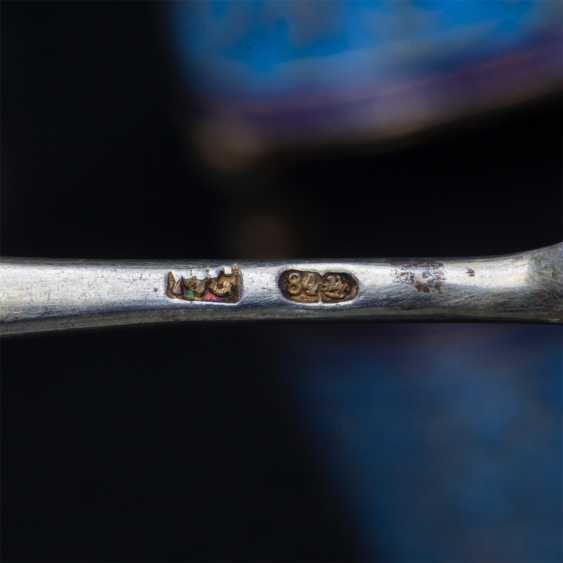 Set of 6 salt spoons. O. Kurlyukov - photo 6