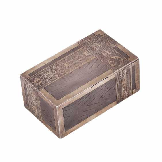 Cigar box TOBACCO. Workshop Isakova - photo 1