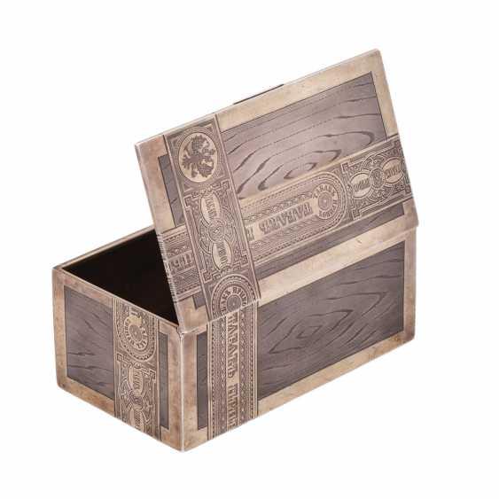 Cigar box TOBACCO. Workshop Isakova - photo 2