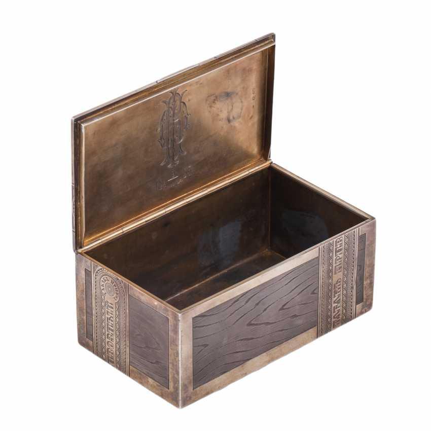 Cigar box TOBACCO. Workshop Isakova - photo 3