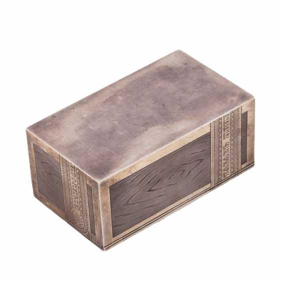 Cigar box TOBACCO. Workshop Isakova - photo 5