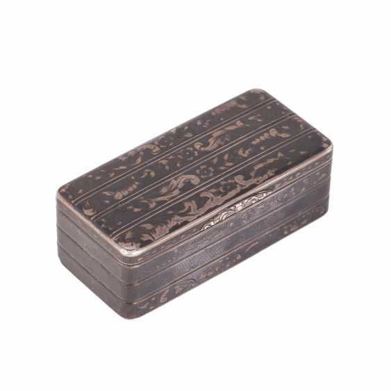 Snuffbox in the form of the trunk. N. Mikhailov - photo 1