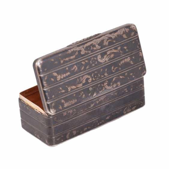 Snuffbox in the form of the trunk. N. Mikhailov - photo 2