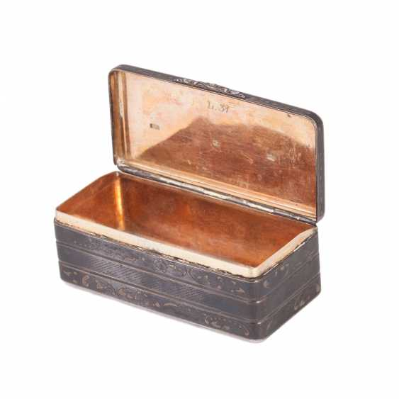 Snuffbox in the form of the trunk. N. Mikhailov - photo 3