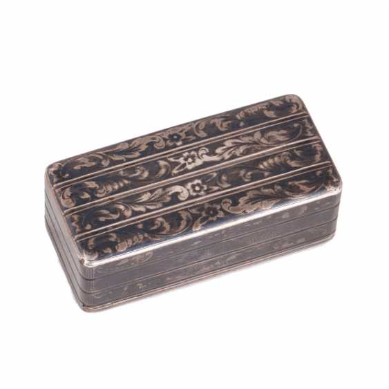 Snuffbox in the form of the trunk. N. Mikhailov - photo 4