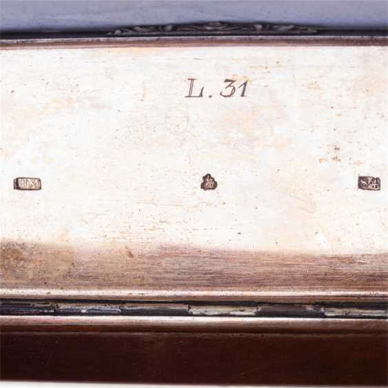 Snuffbox in the form of the trunk. N. Mikhailov - photo 5