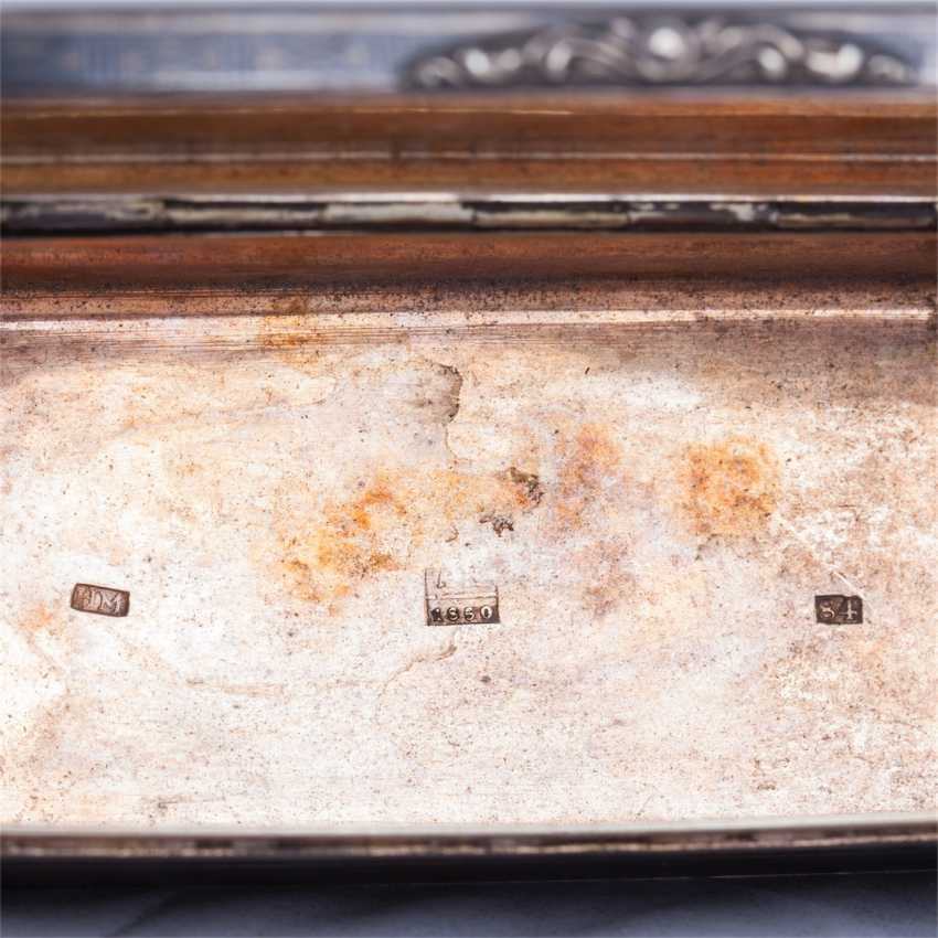 Snuffbox in the form of the trunk. N. Mikhailov - photo 6