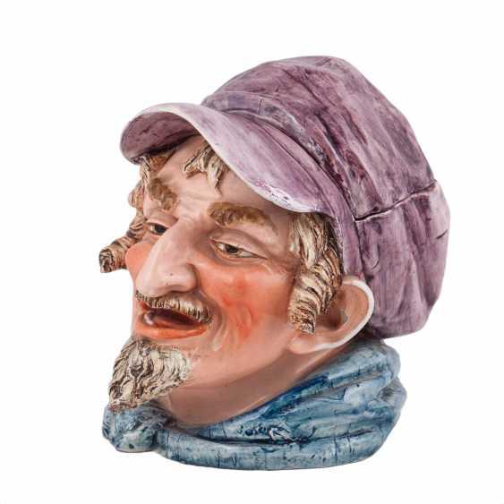 Porcelain mug Toby head of a Jew - photo 1