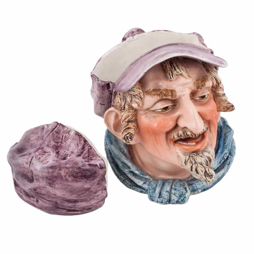 Porcelain mug Toby head of a Jew - photo 2