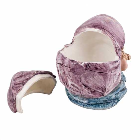Porcelain mug Toby head of a Jew - photo 3
