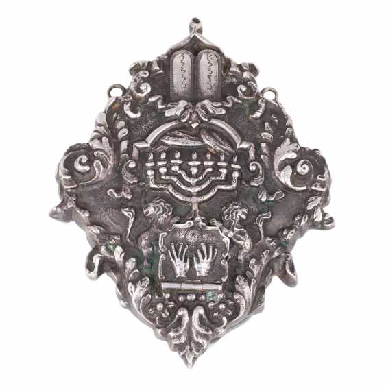 Silver cameo (amulet in Judaism). - photo 1