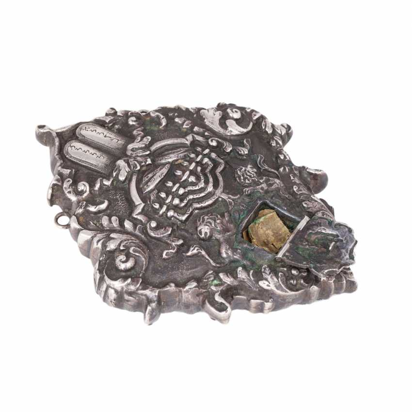 Silver cameo (amulet in Judaism). - photo 3