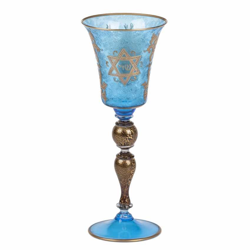 The Sabbath (Shabbat) glass. 20th century - photo 1