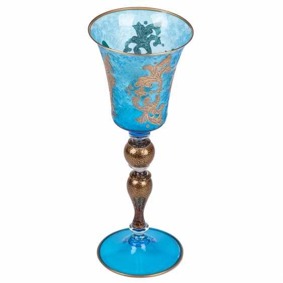 The Sabbath (Shabbat) glass. 20th century - photo 2