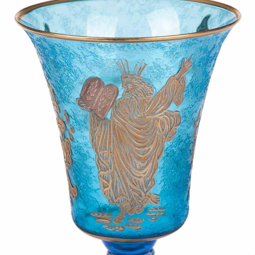 The Sabbath (Shabbat) glass. 20th century - photo 3