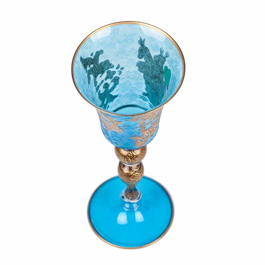 The Sabbath (Shabbat) glass. 20th century - photo 5