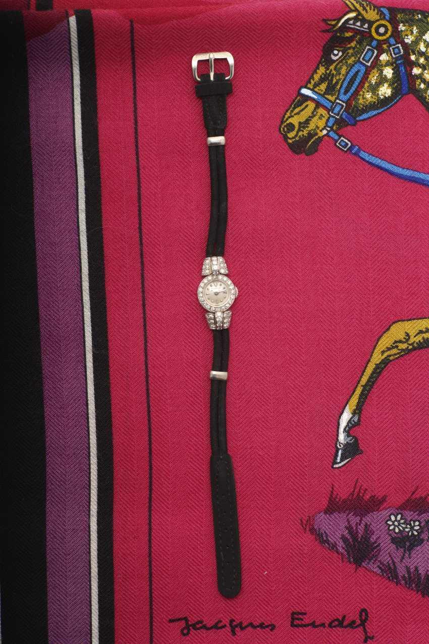 Ladies wrist watch with diamonds. Geneva, 1950s, JAEGER-LECOULTRE - photo 1