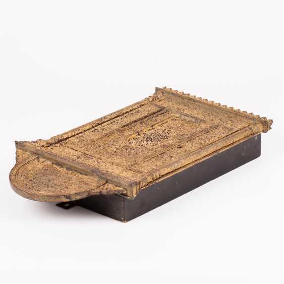Miniature Aron-Kodesh. 18th century - photo 4