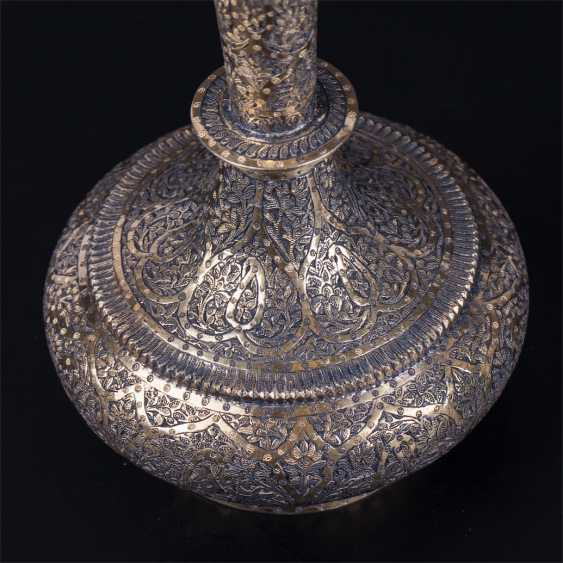 A pair of silver Indian vessels - photo 2