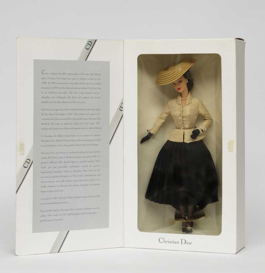 Auction Barbie Anniversary Edition For 50 Birthday Of The House Of Christian Dior Couture For Mattel Inc Company Paris 1996 Barbie New Look Dress Bar Buy Online By Veryimportantlot Com Auction Catalog