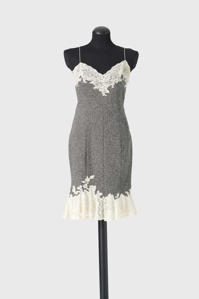 lingerie kleid. john galliano für christian dior, paris prêt