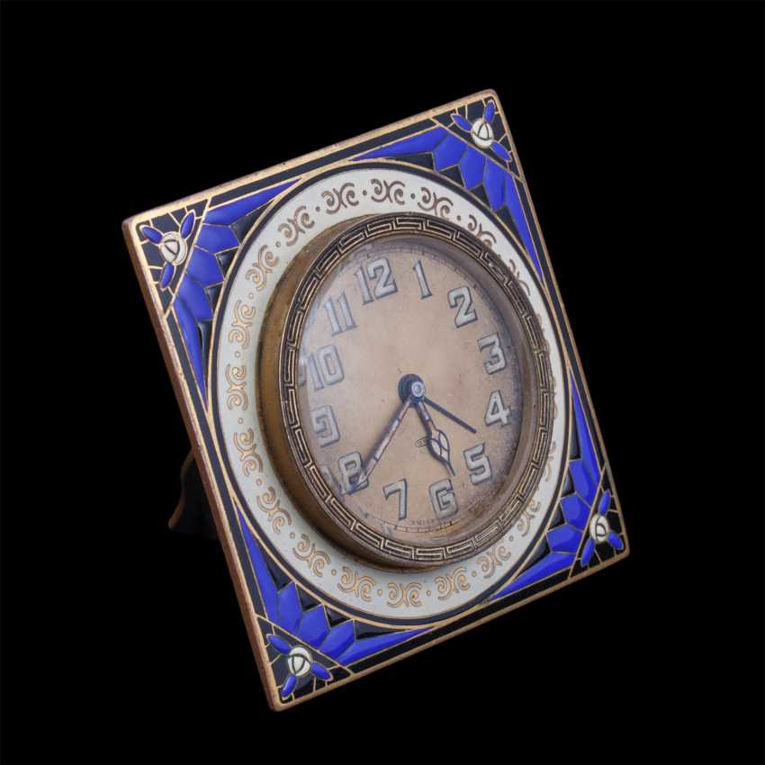 Swiss Desk clock with alarm - photo 1