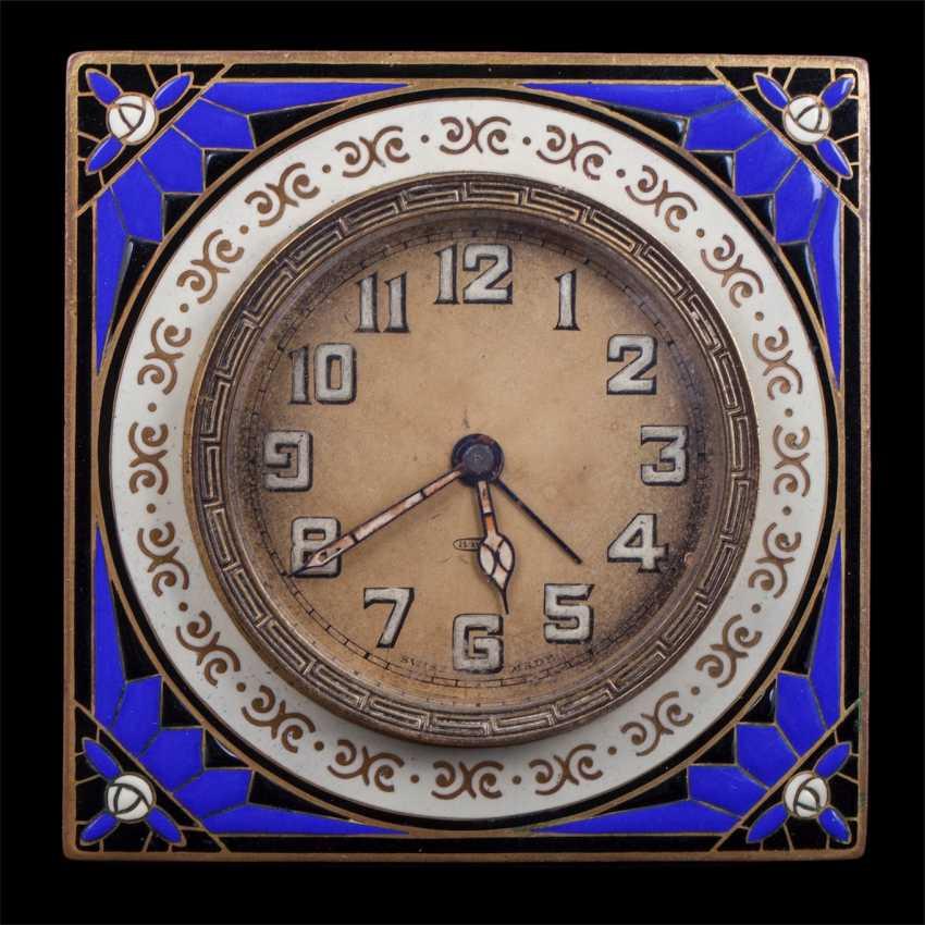 Swiss Desk clock with alarm - photo 2