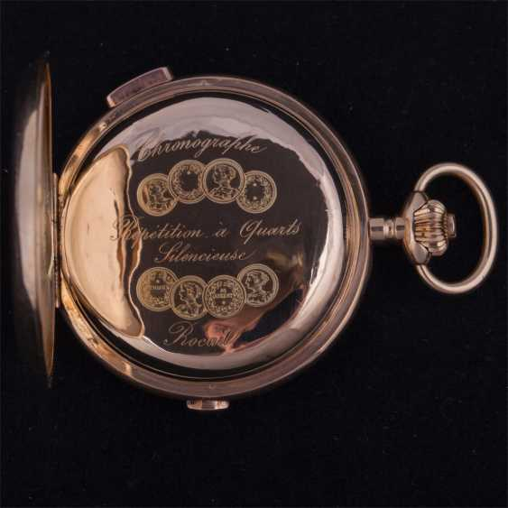 Trehkostochny quarter repeater with chronograph - photo 4