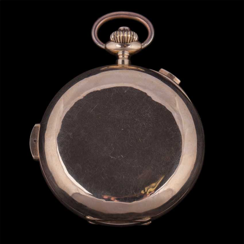 18K gold, quarter repeater with chronograph - photo 4
