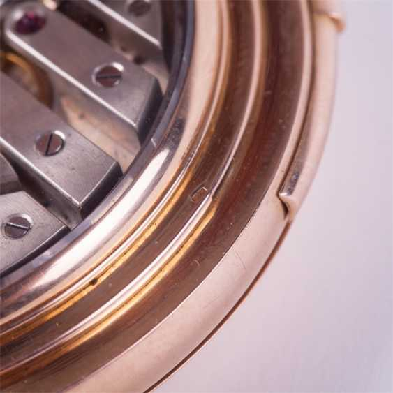 18K gold minute repeater with full calendar - photo 4