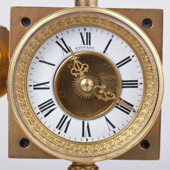sessel uhr tiffany mit kompass und barometer los 226. Black Bedroom Furniture Sets. Home Design Ideas